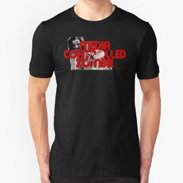 Media Zombies Slim Fit T-Shirt