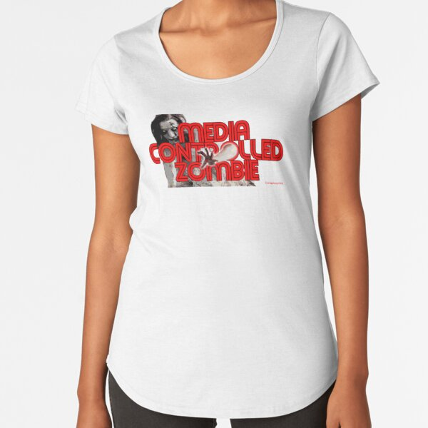 Media Zombies Premium Scoop T-Shirt