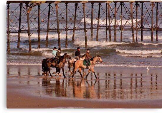 Racing the Tide by Trevor Kersley