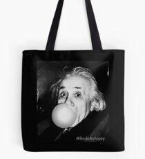 Albert Einstein bubble gum Tote Bag