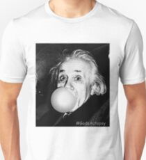 Albert Einstein bubble gum T-Shirt