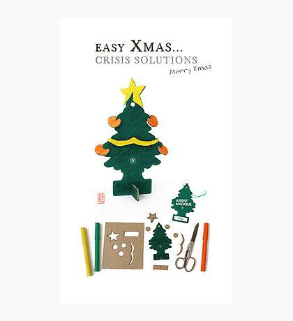 Xmas Crisis Solutions Photographic Print