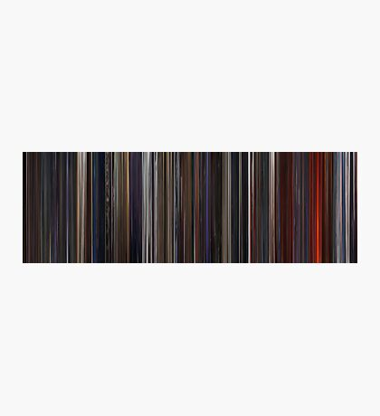 Moviebarcode: Star Wars: Episode III - Revenge of the Sith (2005) Photographic Print