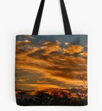 Just another orange sky Tote Bag