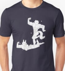 Muscle Cat and Rodney Unisex T-Shirt