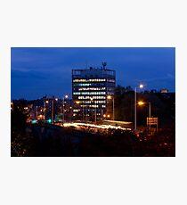 Carlisle Civic Centre at Dusk Photographic Print