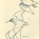 Sketching birds by Maree Clarkson