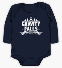 Camp Gravity Falls (worn look) One Piece - Long Sleeve