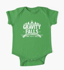 Camp Gravity Falls (worn look) One Piece - Short Sleeve
