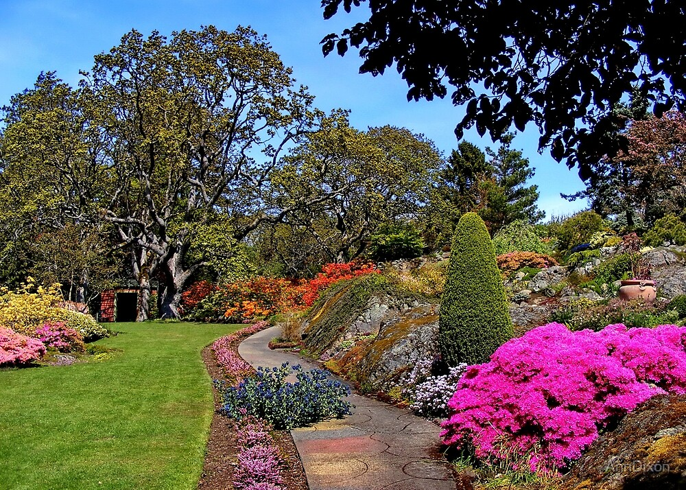 Abkhazi Garden by AnnDixon