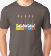 Telecaster Rainbow Unisex T-Shirt