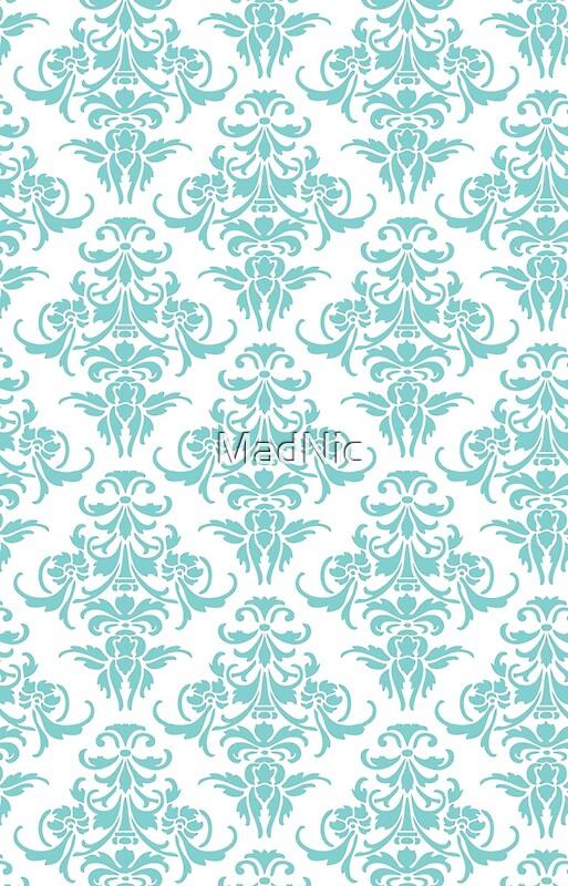 tiffany blue damask clip - photo #15