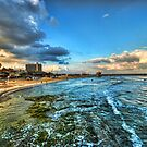 a good morning from HIlton's beach, Tel Aviv by Ronsho