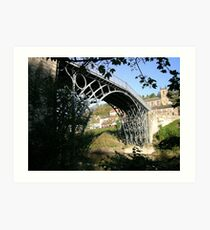 The Worlds first Ironbridge Telford Shropshire. Art Print