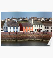 Maryport Harbour Houses Poster