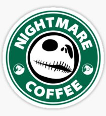 Nightmare Before Coffee - Jack Sticker