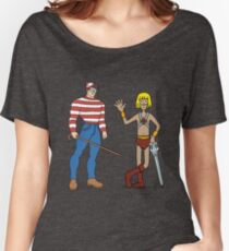Where's Wal-Man? Women's Relaxed Fit T-Shirt