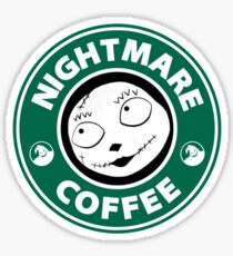 Nightmare Before Coffee - Sally Sticker