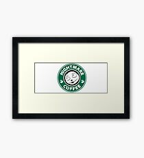 Nightmare Before Coffee - Sally Framed Print