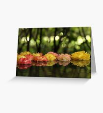 Rose Water Greeting Card