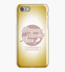 Mummy Smash Time_Sanity iPhone Case/Skin