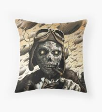 Undeath From Above Throw Pillow