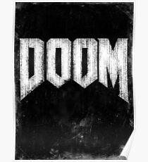 Doom Grunge Poster