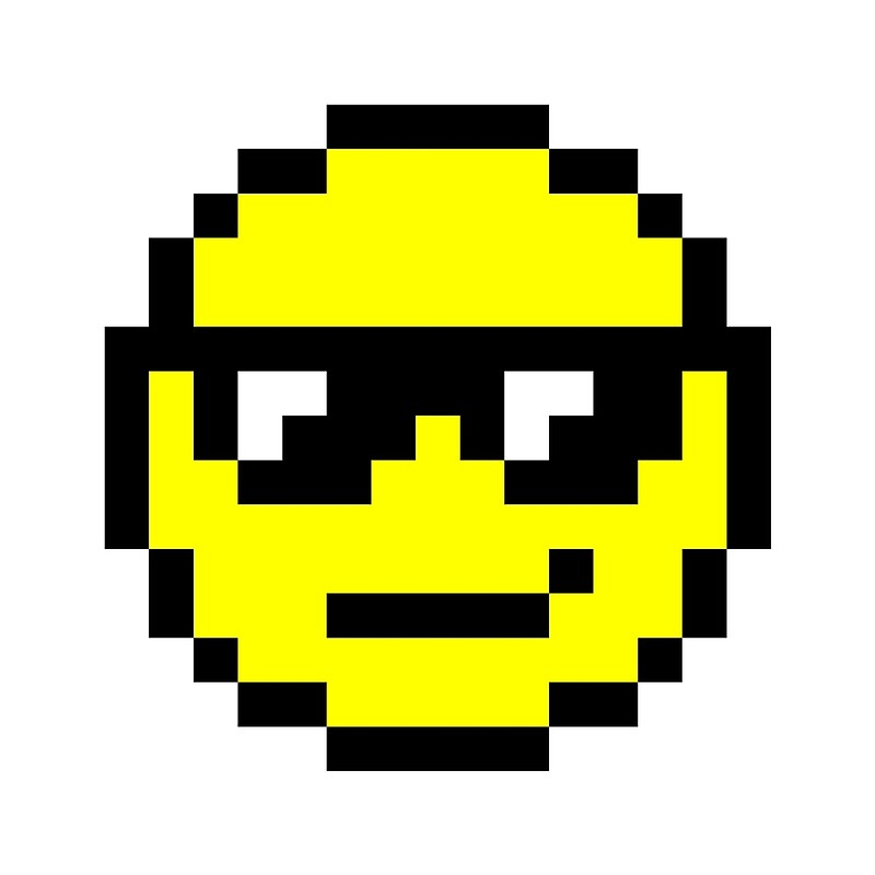 Pixel Art Smiley