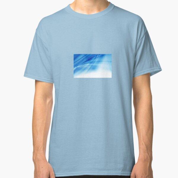 Blue Background Image Classic T-Shirt