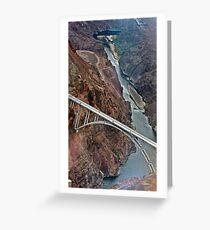 Hoover Dam, Nevada Greeting Card