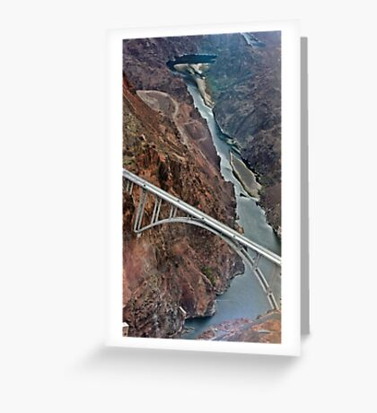 Hoover Dam, Nevada Greeting Card