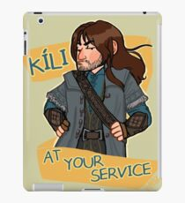 Kee at Your Service iPad Case/Skin