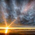 Woodend Beach Sunrise by Rod Kashubin