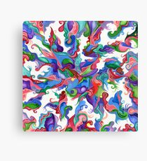 Boldly Flowing Canvas Print