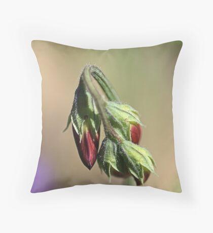 Split Pea Throw Pillow