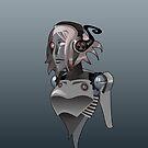 Robot Girl by Francis  Arandez
