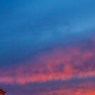 Fire Sky by Dragomir Vukovic
