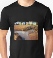 Bathing Boxes, Mornington Beach 2 T-Shirt