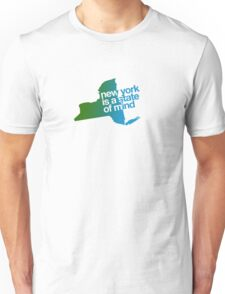 New York is a state of mind - Green/blue Unisex T-Shirt
