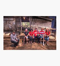 Rumble We Will Go - Red Bubble Rumble - Australian Pioneer Village  Photographic Print