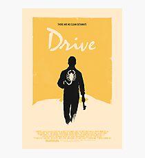 Drive (2011) Custom Poster Variant  Photographic Print