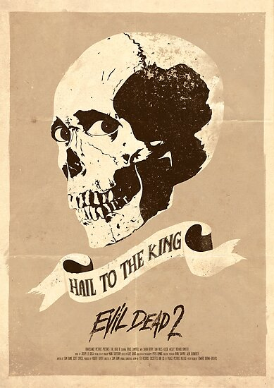 Evil Dead 2 (1987) Custom Poster by Edward B.G.