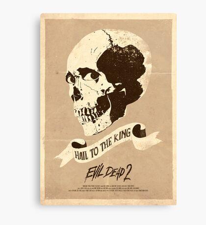 Evil Dead 2 (1987) Custom Poster Canvas Print