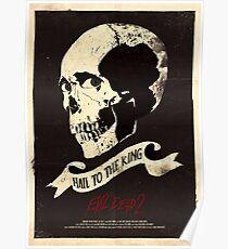 Evil Dead 2 (1987) Custom Poster Variant Poster