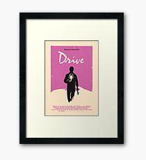 Drive (2011) Custom Poster Framed Print