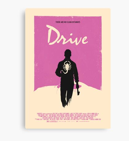Drive (2011) Custom Poster Canvas Print