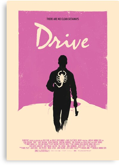Drive (2011) Custom Poster by Edward B.G.