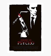 American Psycho (2000) Custom Poster Photographic Print