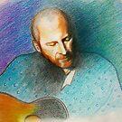 Portrait of Colin.. color pencils :)) by karina73020