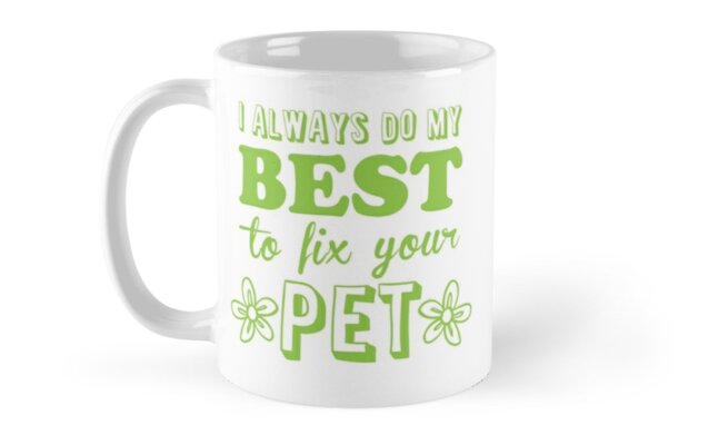 I always do my best to fix your PET (great vet nurse or Veterinarian design) by jazzydevil